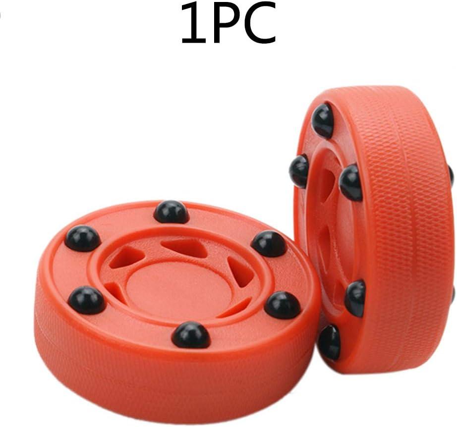 CLIUS ller Hockey Puck Orange Professionnel und Roues ABS Durable GH Densit/é Accessoires Parfaitement /Équilibrer Anti LL Pratique