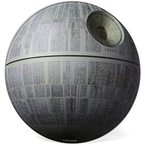 Star Wars Death Star Cutting Board - Non Slip Feet - Made of Toughened Glass (Star Board Cutting)