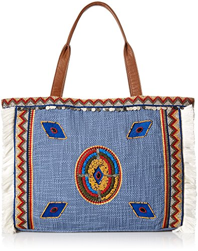 Sam Edelman Titian Tote Bag, Denim Multi