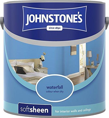 Emulsion Sheen Soft (Johnstone's 304175 2.5 Litre Soft Sheen Emulsion Paint - Waterfall by Johnstone's)