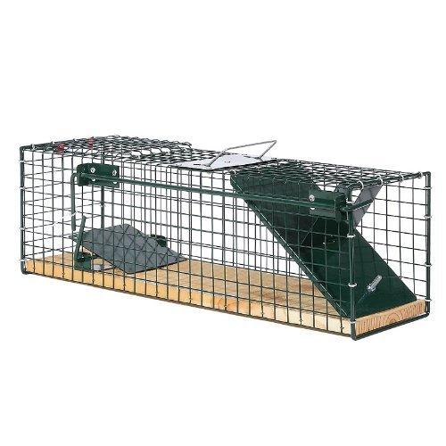Moorland Safe 6041 - Trampa para Animales Vivos - 55x15x19 cm - para Ratas o Ratones - con 1 Entrada - Sin Feromona: Amazon.es: Jardín