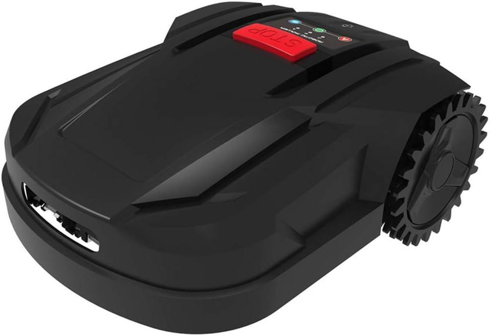 AHELT-J Robots Cortacésped, Cortacésped Alimentado por Batería: Cortacésped Robot Inteligente de 7.1 Pulgadas, Cortacésped, Inclina hasta 20 Grados y Hierba hasta 2.2 Pulgadas de Alto. (800m²),B