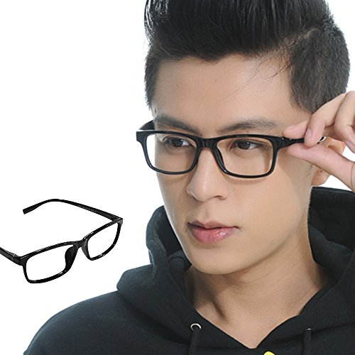 WEKA Unisex Fashion Casual Classic Eyeglass Frame Plain Computer Eyeglass Spectacles ()