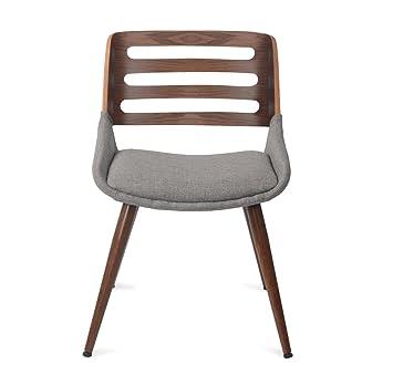 @Home by Nilkamal Dan Arm Chair (Light Brown)