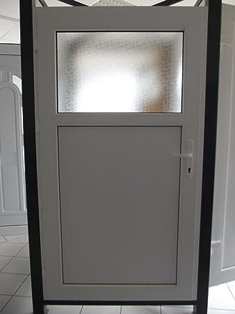 Kunststoff Nebeneingangstur 98 X 198 B X H Mit Druckergarnitur