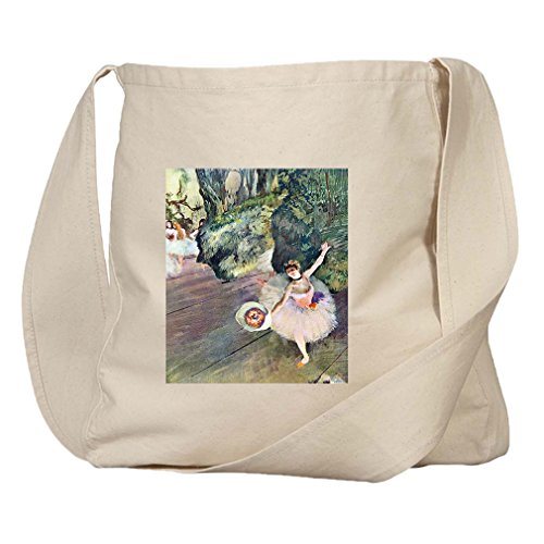 Dancer Bouquet Flowers Star Ballet (Degas) Organic Cotton Canvas Market Bag (Bag Ballet Degas)