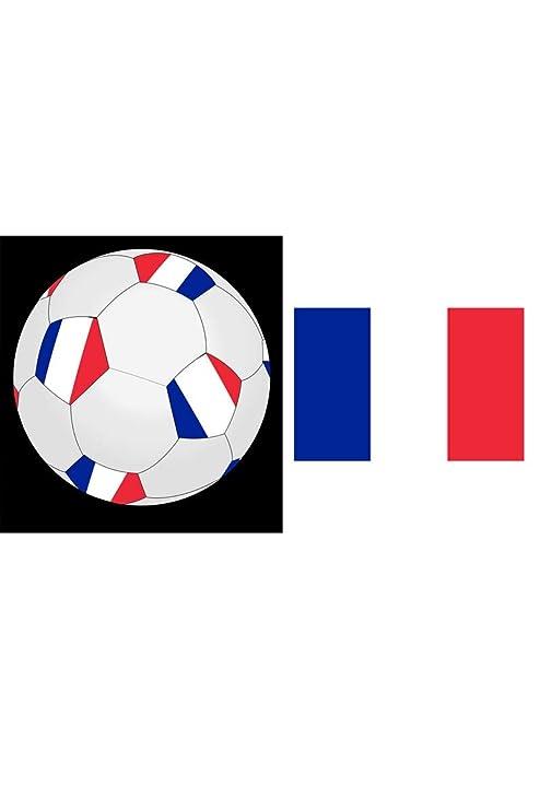 Fiesta Palace-Balón De fútbol De Francia De plástico, 25 cm ...