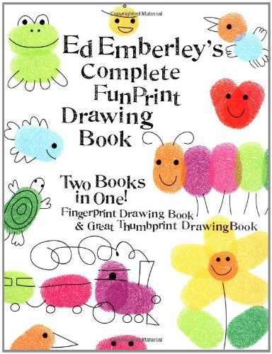 Fingerprint Art (Ed Emberley's Complete Funprint Drawing Book)