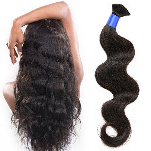 wet and wavy human hair braiding - 2