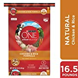 Purina ONE Natural Dry Dog Food, SmartBlend Chicken & Rice Formula - 16.5 lb. Bag Larger Image