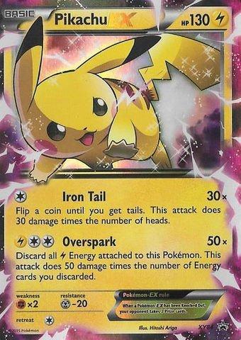 Amazon Com Pokemon Pikachu Ex Xy84 Xy Black Star Promos