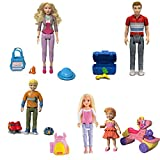 Fisher Price Loving Family Dollhouse Figure Set~ Dad,Mom,Brother,Sister and Toddler by Fisher-Price