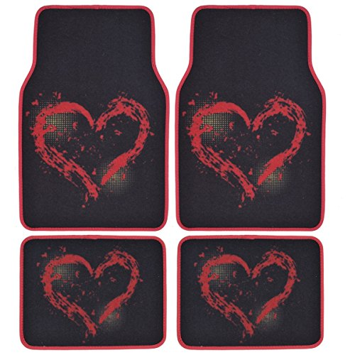 BDK Heart Design Carpet Floor product image