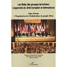 Listes des groupes terroristes