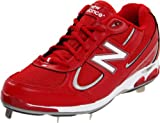 New Balance MB1103 Men's Baseball Cleat,Red,9 B US