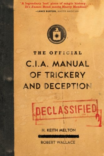 The Official CIA Manual of Trickery and Deception ()