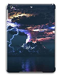 iPad Air Cases & Covers -Angry Volcano Custom PC Hard Case Cover for iPad Air