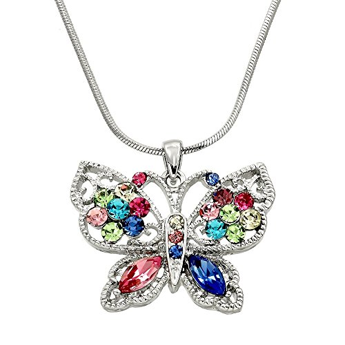 Childrens Butterfly Necklace - 8