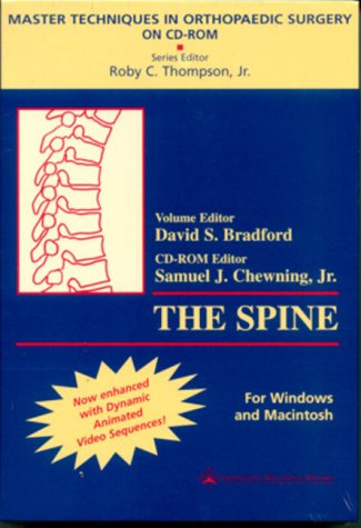 Master Techniques in Orthopaedic Surgery on CD-ROM, Volume III: The Spine (For Windows and Macintosh)