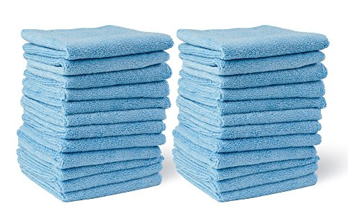 MopAway Premium Highly Absorbent Microfiber Cleaning Cloths (24 Pack)