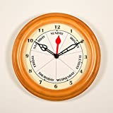 DayClocks 10 in. Contemporary Wall Clock