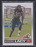2013 Sage Hit Eddie Lacy Packers Rookie Football Card #92