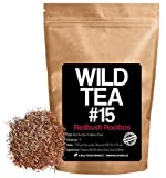 Red Rooibos Loose Leaf Tea, Organic South African Rooibos Herbal Tea, Wild Tea #15 by Wild Foods (8 ounce)