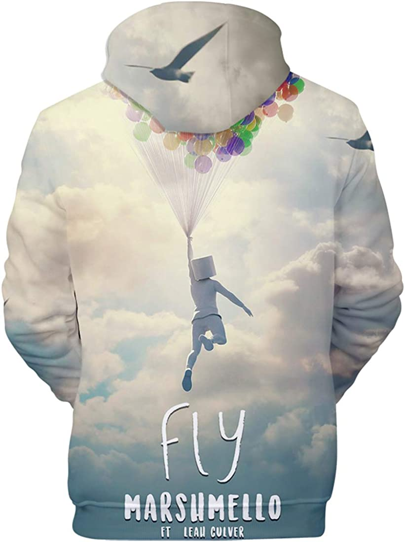 FLYCHEN Boys Hoodies 3D Printed Long Sleeve for Kids
