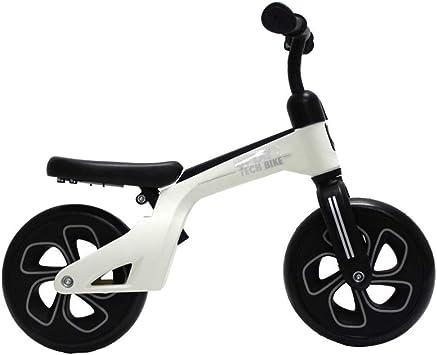 QPLAY Bicicleta de Equilibrio sin Pedales Tech Balance Trike White ...