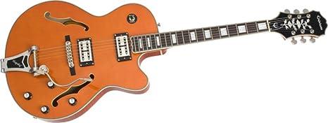Emperador swingster guitarra de cuerpo hueco Epiphone Guitarra ...