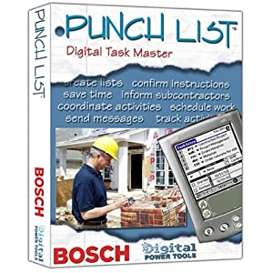 Bosch Punch List Digital Task Master, Standard Version #BDPTPLS