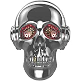 TOPROAD Cool Skull Wireless Speaker SADAN LED Wireless Super Bass Stereo Sound Cool Skull artwork speaker with Wonderful Eyes Light for Party/Office/Business/Bedroom/Outdoor