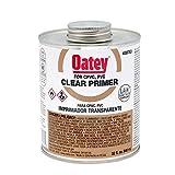 Oatey 30753 NSF Listed Primer, Clear, 32-Ounce