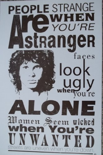The Doors People are Strange Poster