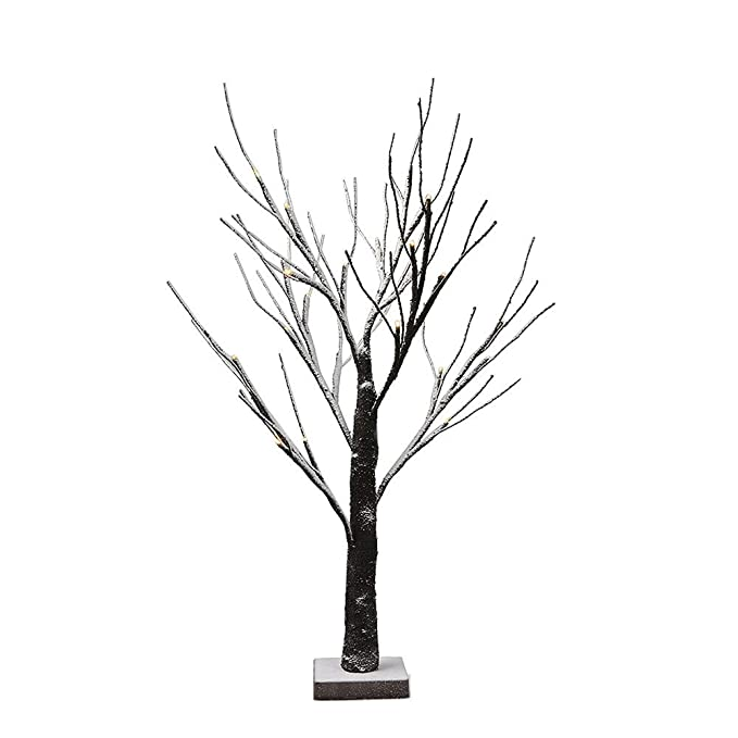 Amazon Com Novelly Tree Light 17 71 Inch 24led Black Branch