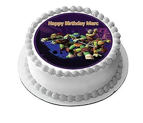 Teenage Mutant Ninja Turtles - Edible Cake Topper - 10