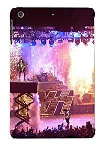 First-class Case Cover Series For Ipad Mini/mini 2 Dual Protection Cover Kiss Heavy Metal Rock Bands Concert 4131b933061
