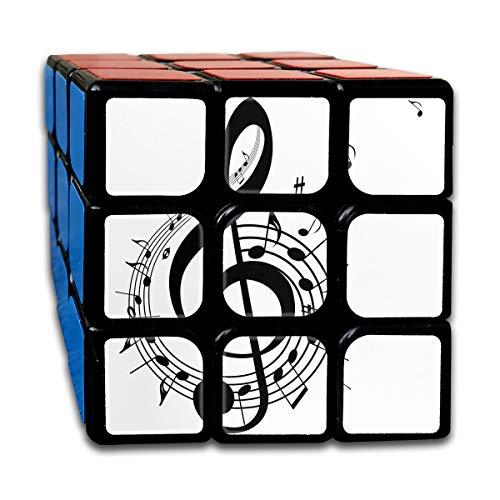Speed Cube Music Idioms Fantastic 3 X 3 Magic Cube For Children (Sticker)]()