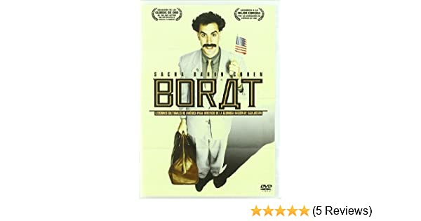 Amazon.com: Borat (Import Movie) (European Format - Zone 2) (2007) Sacha Baron Cohen; Larry Charles: Movies & TV