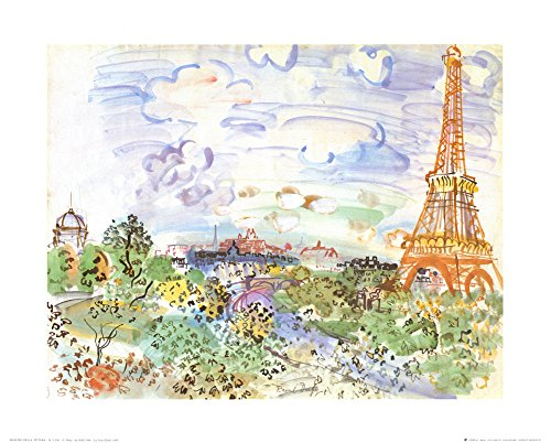 la-tour-eiffel-c1935-art-print-by-raoul-dufy-20-x-16in