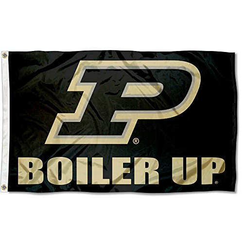 Purdue Boilermakers Banner Flag - College Flags and Banners Co. Purdue Boilermakers Boiler Up Flag