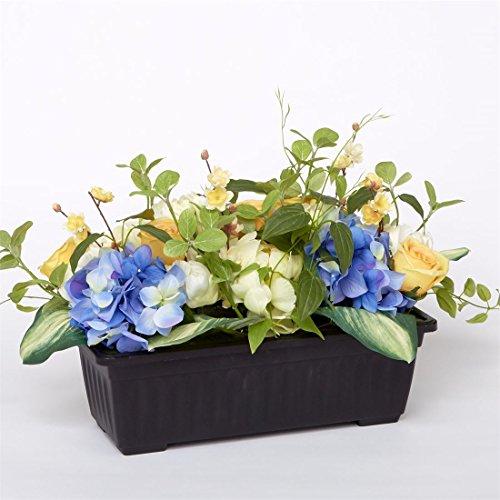 Brylanehome Les Fleur Window Box Filler (Blue Yellow,0) - Fleurs Window Windows