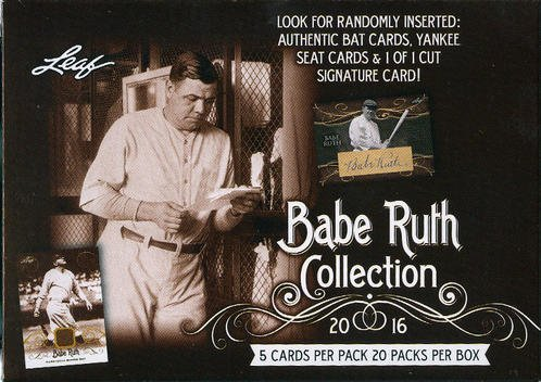 2016 Leaf Babe Ruth Collection Baseball box, used for sale  Delivered anywhere in USA