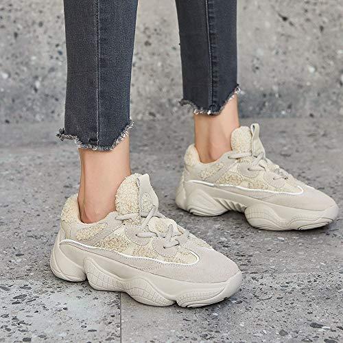 Un Traspiranti Lace Up Antiscivolo Sneakers Passeggio Fashion amp; Spring Fall Donna Da Yan Casual Scarpe Corsa 7zvTPZw