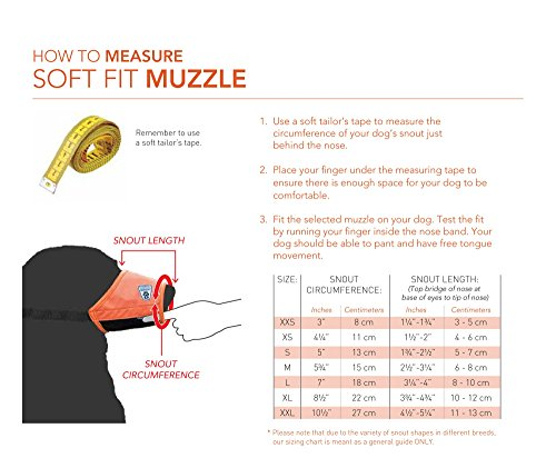 Buy soft muzzle for dogs
