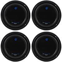 4) Planet Audio AC8D 8 4800w DVC 4-OHM Car Subs Subwoofers Poly Injection Cones