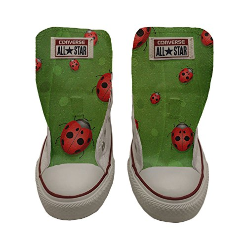 Converse Customized Adulte - chaussures coutume (produit artisanal) Slim Lady Bugs