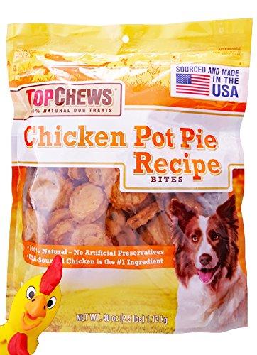 Top Chews Chicken Pot Pie Recipe Bites. Plus Free Bonus 1 ...