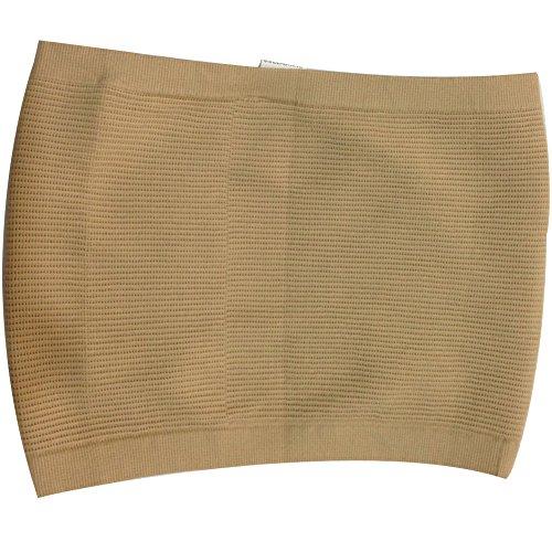 Tobey Men's Slimming Waist Trimmer Body Shaper Lose Weight Beer Belly Wrap Belt (Nude L)