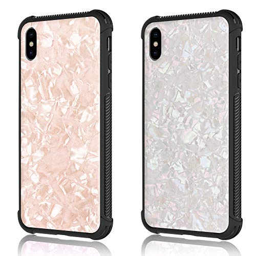 iPhone Xs Max Case, Protective 6.5 inch case, Pink iPhone Xs Max Cover - 2018 Release (Pink or White) - Greywood
